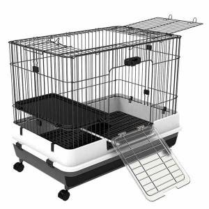 Caines Indoor Small Animal Cage with Wheels 0223