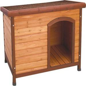 Premium Dog House Solid Wood Bed for Pet
