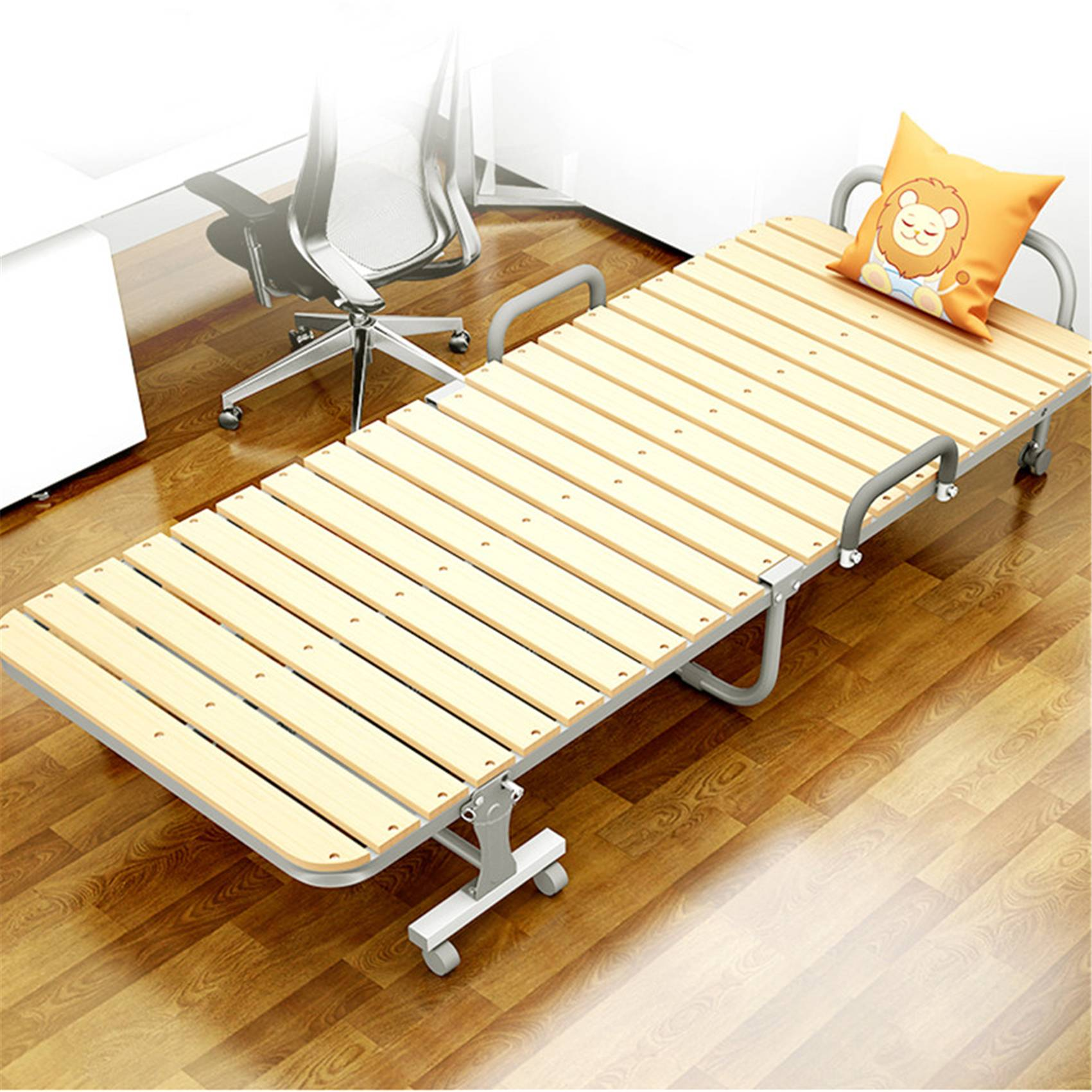 Domestic Adult Furniture Wooden Metal Bed 0212-2 Featured Image