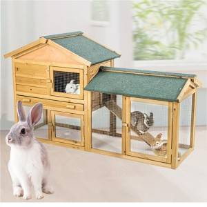 Zosia Small Animal Hutch with Ramp 0211