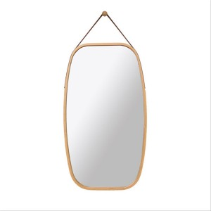 Nordic decorative round mirror wall-mounted full-length mirror 0445