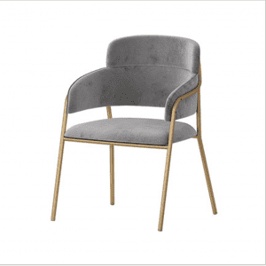 Nordic style flannel chair stylish minimalist furniture 0349