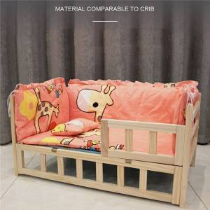 High-Grade Dog Kennel Solid Wood Frame Pet Bed 0214