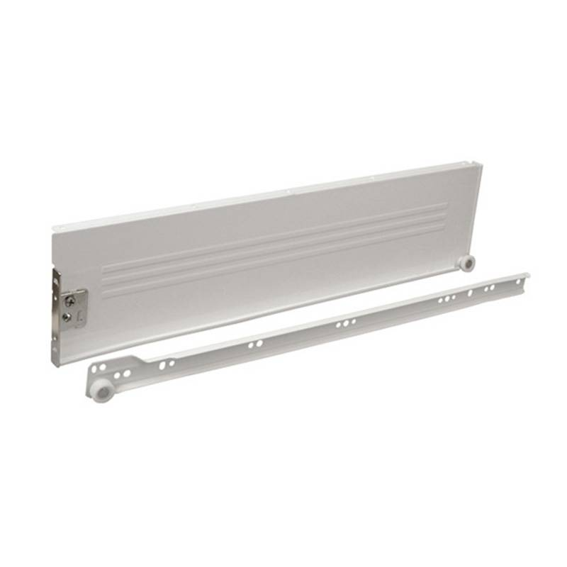 118mm metal box drawer slide (powder coated roller slide) Featured Image