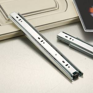 Full extension telescopic channel 45mm ball bearing drawer slide manufacturer