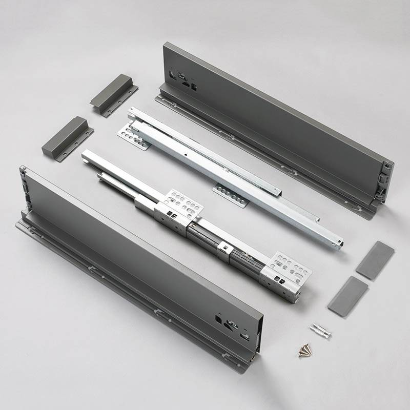 118mm metal box drawer slide slim drawer system Featured Image