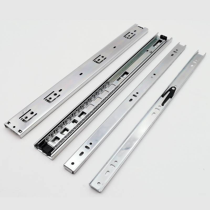 Full extension telescopic channel 45mm ball bearing drawer slide manufacturer Featured Image
