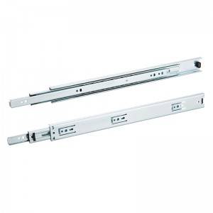 37mm Full extension three section ball drawer slide