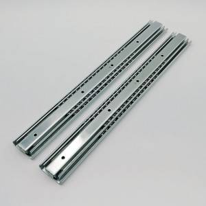 53mm Telescopic Channel Ball Bearing Drawer Slide Heavy Duty Industrial Rails