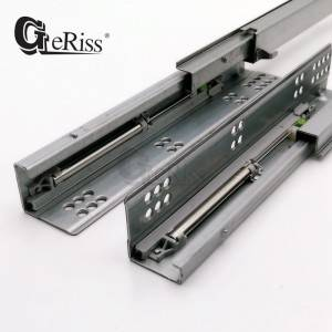 Full Extension Soft-Close Undermount Drawer Slide for Frameless Cabinets – 16mm drawer board
