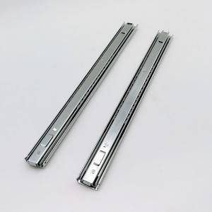 37mm Full/triple extension telescopic channel bayonet mount drawer slide