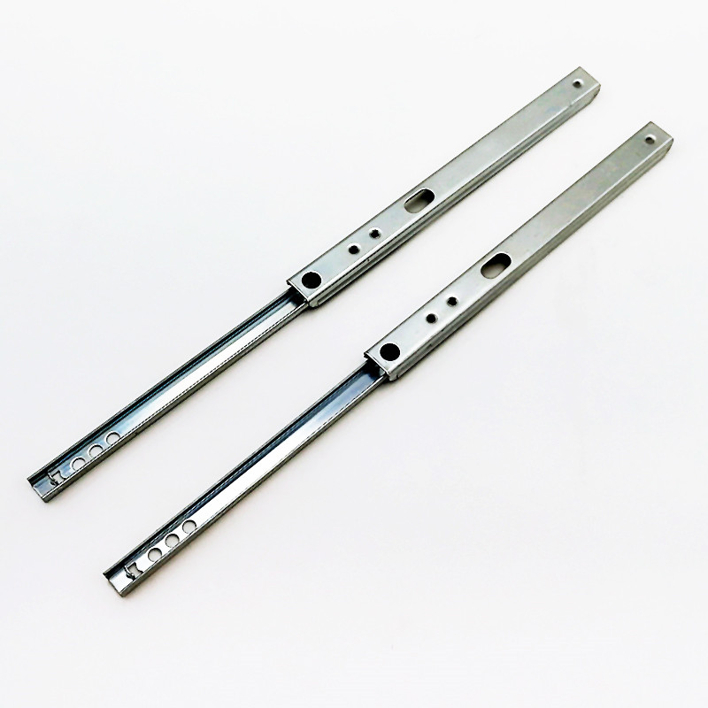 17mm Single extension side mount telescopic drawer slide channel Featured Image