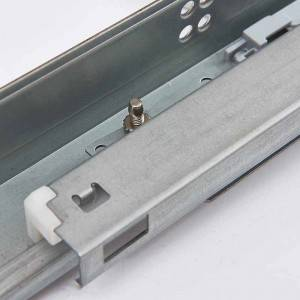 Soft close concealed undermount drawer runners full extension – 18mm drawer side board