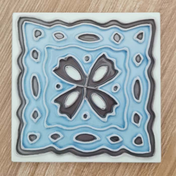 Ceramic Coster Tile 4×4 Featured Image