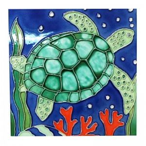 Handpainted Ceramic Decorative Art Tile