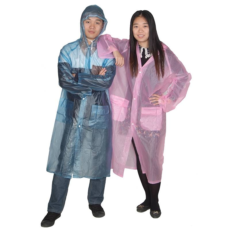Reusable PVC raincoat Featured Image