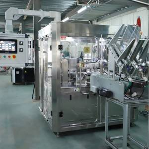 Coffee capsule packing machine