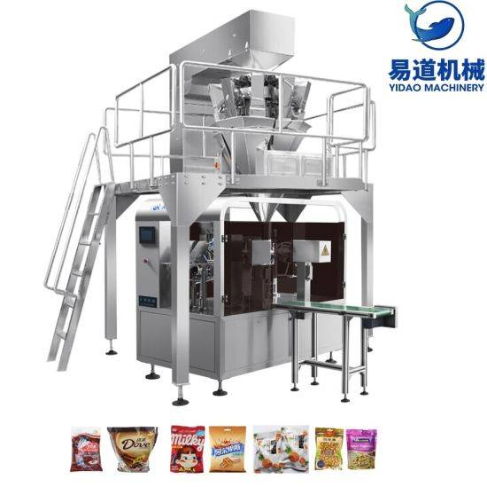 Fast delivery Automatic Food Packing Machine - Automatic Multi-Function Rotary Food/ Powder/Granule/Liquid/Paste Filling Sealing Packaging Packing Package Machine – Yidao
