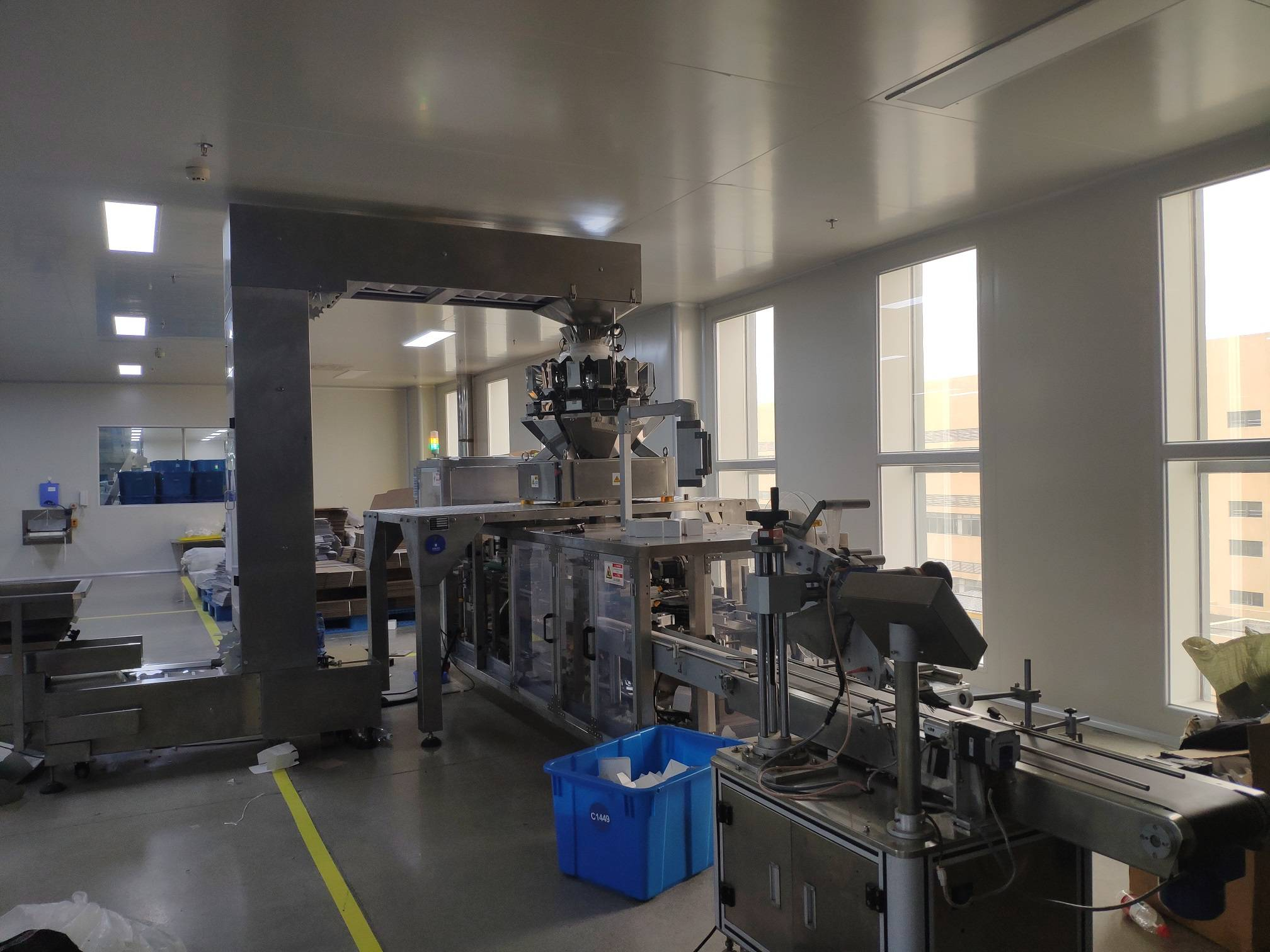 Automatic vertical cartoning machine for Food/Candy/Flavoring/Powder/Grain/Beans/Nuts