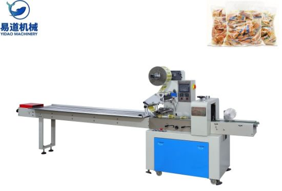 Special Design for Seed filling packing machine - Kd-350 Pillow Packing Machine for Dount Food Biscuit Bread Bakery – Yidao
