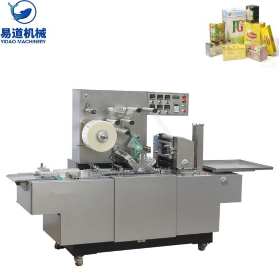 Bt-200 Automatic Three -Dimensional Cellophane Over Wrapping Machine / Cigarette Case Transparent Film Wrapping Machine