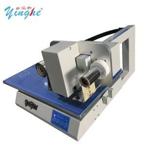 flatbed hot foil machine