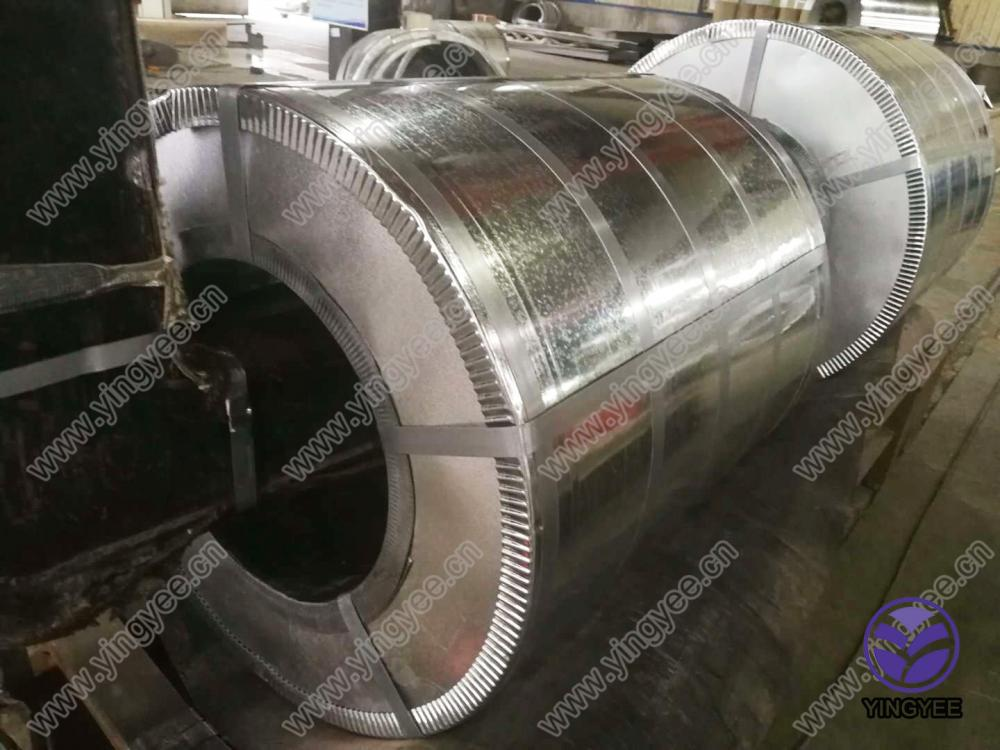 0.2-3 mm Cold Rolled Galvanized Steel Coils