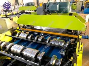 metal IBR roof sheet roll forming machine