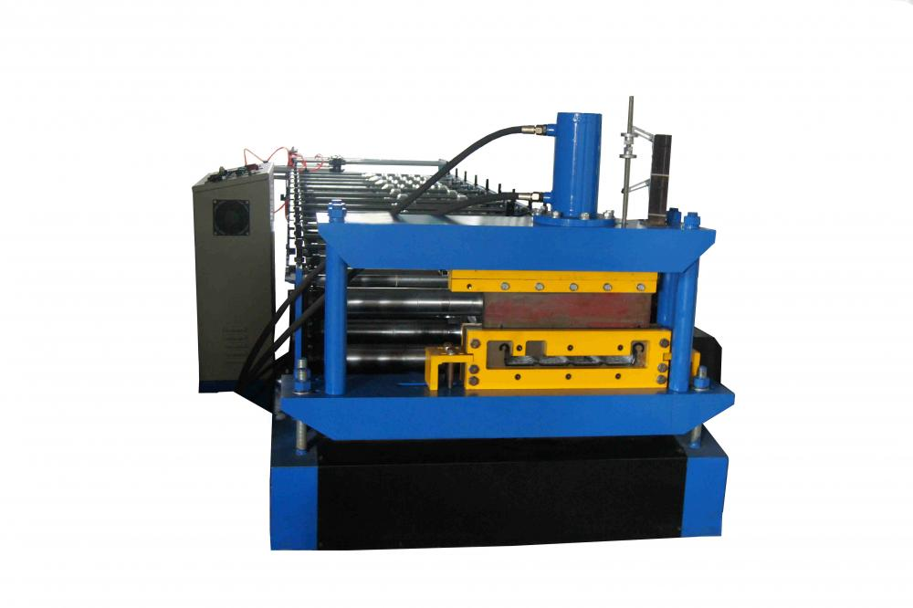 Galvanized standing seam roll forming machine
