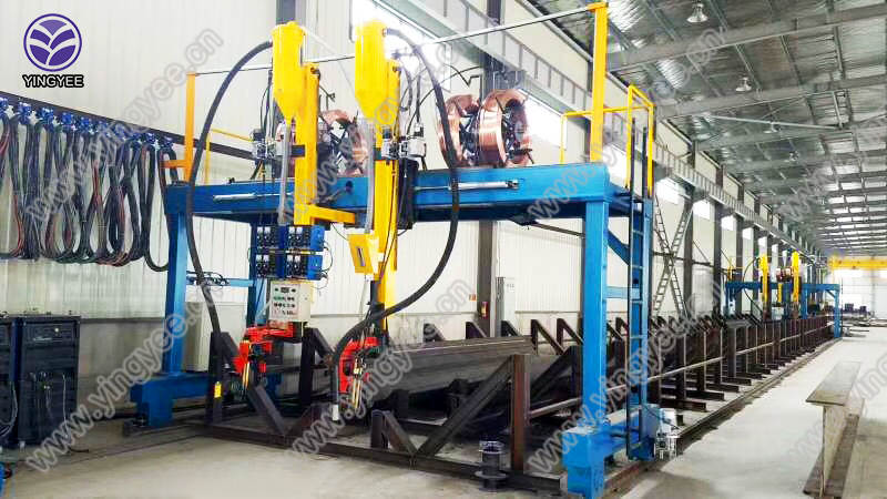 Automatic Beam Welding Line