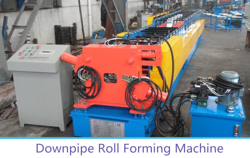 Color Steel Rain Pipe Roll Forming Machine Featured Image