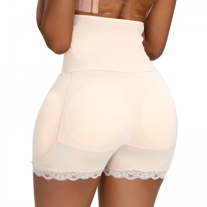 Amazon hot sale plus size High Waist Butt Lifter Panty power women hook shapewear tummy control slimming body shaper