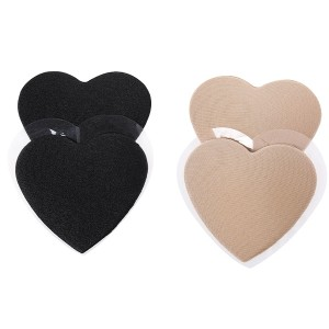 Reusable Strapless invisible bra Heart-shaped push up sexy strapless bra Nipple cover for dress