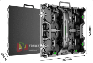 China wholesale P3 Led Module - Omnipotent P1.953,P2.604,P2.976,P3.91,P4.81 frontal rear dual service concert church event stage rental led display – Yonwaytech