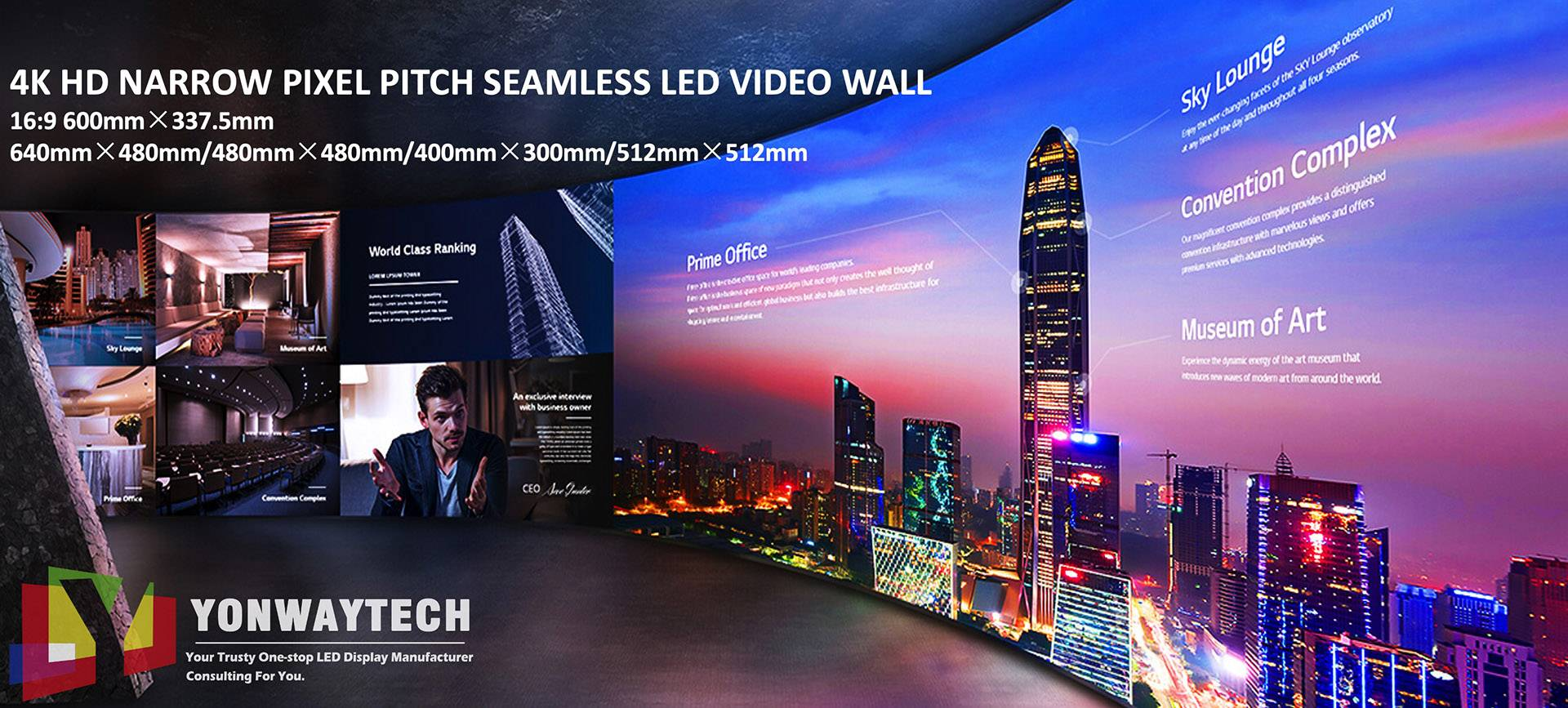 P1.25 HD Narrow Pixel Pitch LED Screen
