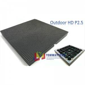 Outdoor HD Narrow Pixel Pitch 2.5mm LED Display...