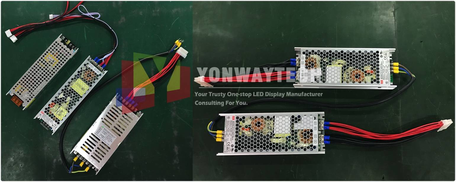 Mainly elements of a good quality power supply selection for your qualified led display.