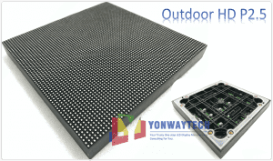 OEM/ODM Supplier Led Wall Hire - Outdoor Full Color P2.5 LED Module Size 160x160mm HD Narrow Pixel Pitch Fixed – Yonwaytech