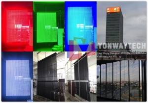 Cheapest Price P10 Dip Led Module Display - Outdoor Façade Curtain P10.42 P15.625 P31.25 P50 Transparent Advertising LED Screen – Yonwaytech