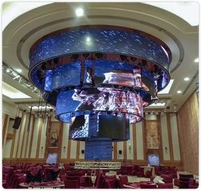 Some Trend Sharing Of Flexible Creative Soft LED Module Display.