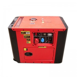 5kw open/silent air cooled diesel generator set