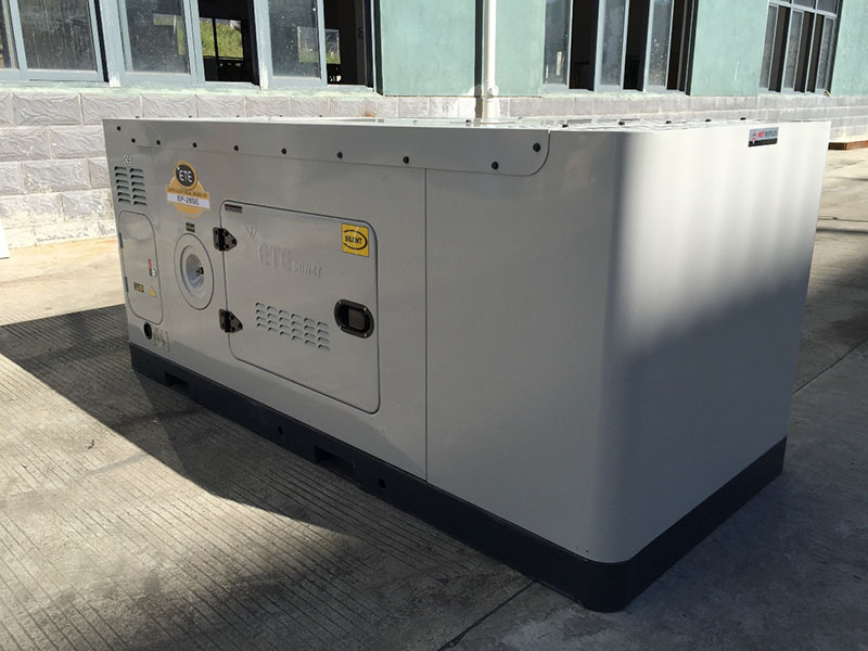 Our company has been awarded the utility model patent certificate of ultra-quiet diesel generator set