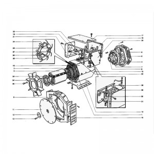 Generator Set Spare Parts Supply