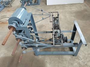 Gabion winding machine