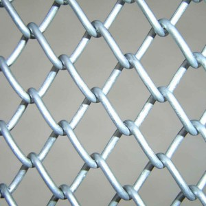 China Manufacturer of Galvanized Chain Link Fence with Cheap Price High Quality