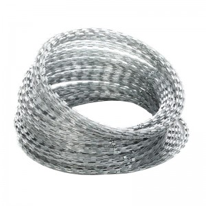 Iron Wire Material Anti-rust razor blade  wire ...