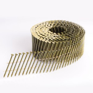 15 Degree Screw Shank Coil Nail for wood pallet