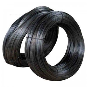 Low price soft black annealed  wire. iron wire factory in China