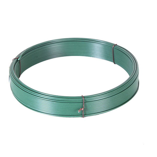 Low carbon steel wire with plastic coated pvc wire/pvc coated iron wire Featured Image