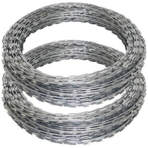 Iron Wire Material Anti-rust razor blade  wire for sale